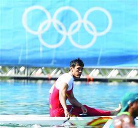 第七名已是奥运最好成绩 李强身后有位好大叔