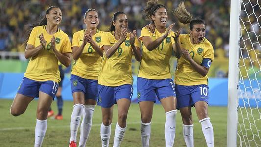 巴西女子运动常年遭冷遇 奥运成唯一公平平台