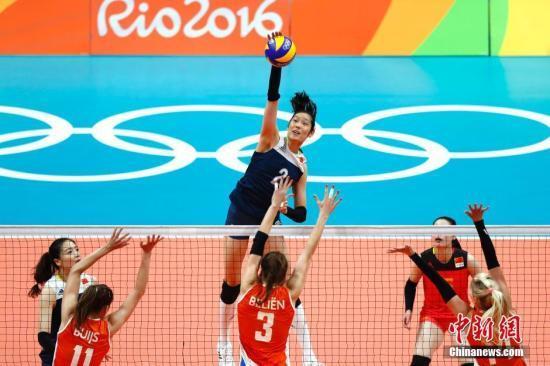 朱婷当选里约奥运女排MVP 林莉当选最佳自由人