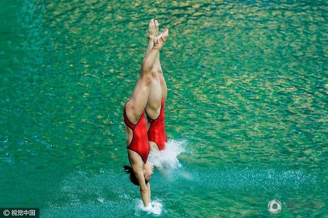 女子跳水双人十米台历届前三 中国奥运五连冠