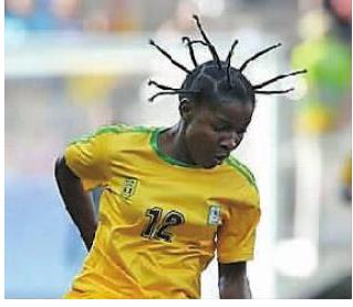 津巴布韦球员发型引爆社交 网友:插天线了图片