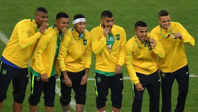 巴西夺金路:6战不败仅失1球 闷平2轮后轰13球