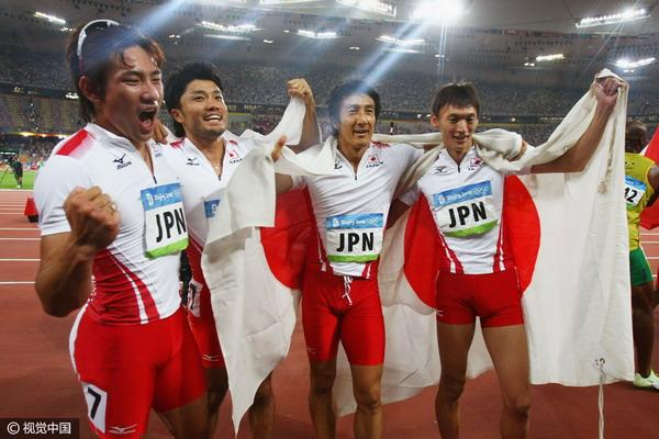 """博尔特身后的""""黄""""种人!揭秘日本短跑崛起奥秘"""