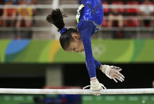 体操女子高低杠成绩单 商春松列第五无缘奖牌