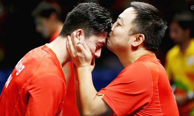 里约奥运乒乓球再夺冠 纵天荒地老国球永不倒