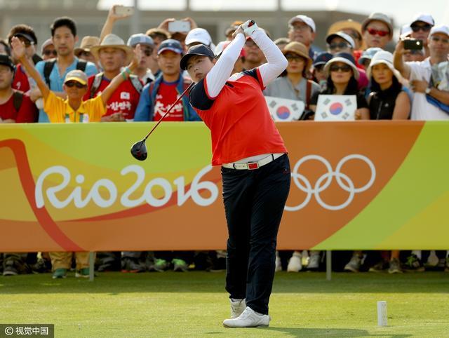 女子高球个人赛韩选手摘金 冯珊珊获铜牌创史