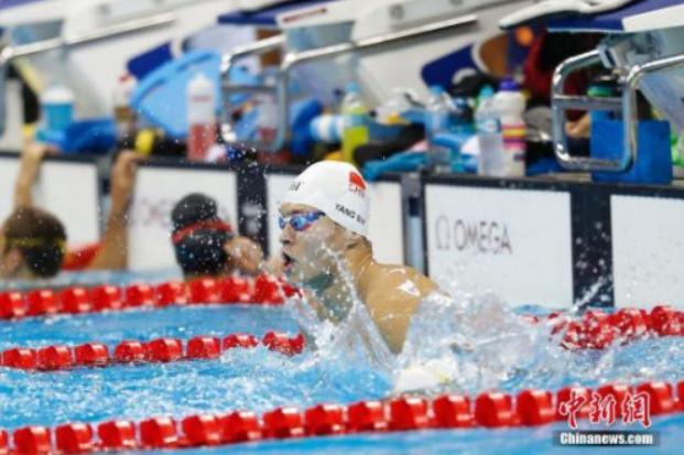 男子400米自由泳分组出炉 孙杨与劲敌霍顿擦肩