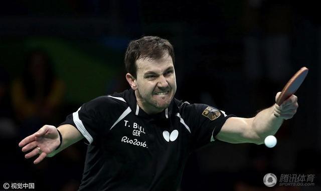 乒乓球男团德国3-1韩国夺得铜牌 波尔贡献2分