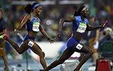 女子4x100米美国夺金