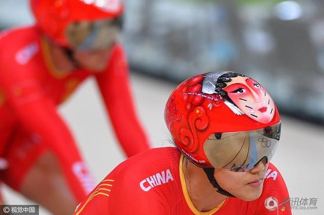 【慢镜头-此刻是金】自行车双姝创造中国速度