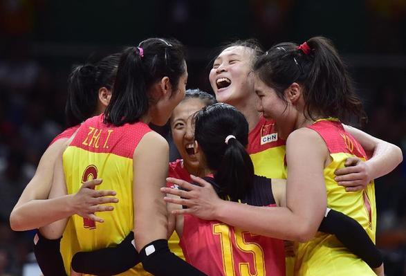 全国妇联电贺中国女排勇夺里约奥运会冠军!
