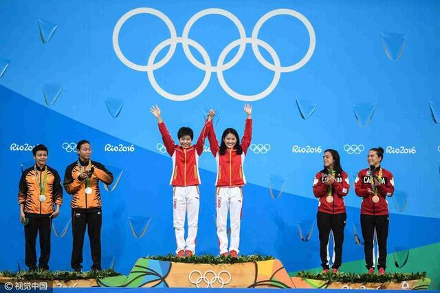 女子跳水双人十米台成绩表 梦之队斩获第七金