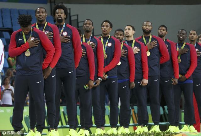 奥运男篮排名:美国榜首西班牙第三 中国垫底