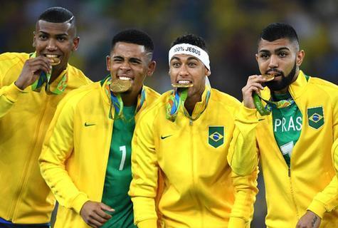 巴西:男足首金让里约沸腾 这比奖牌第一重要