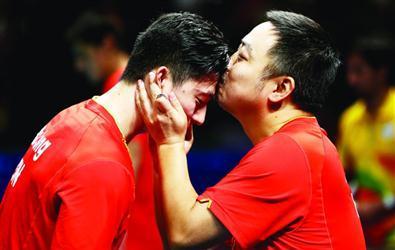 奥运三连冠男乒:走进新时代 欢迎对手变强大