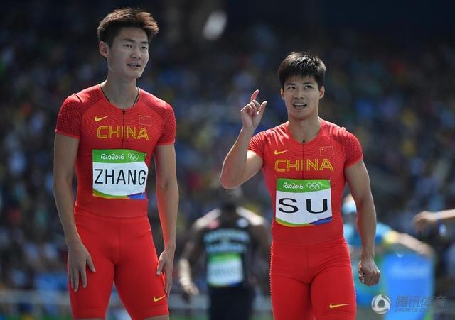 男子4x100接力中国第3进决赛 博尔特缺席预赛