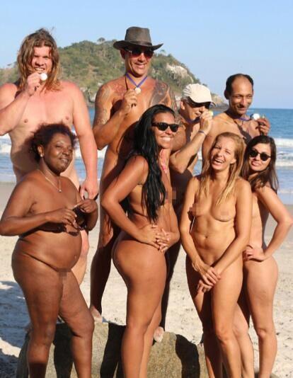 亮瞎眼!里约还有裸体奥运会 致敬希腊融入自然