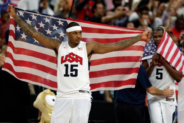 安东尼奥运会得分超乔丹 位列美国队史第三位