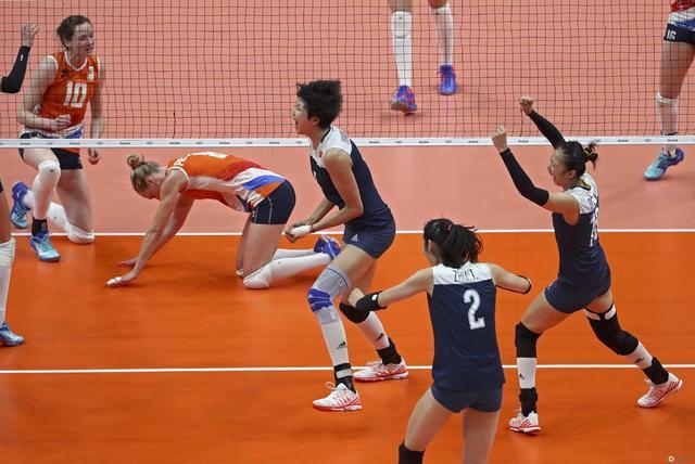 奥运女排:中国3-1复仇荷兰 12年后再进决赛