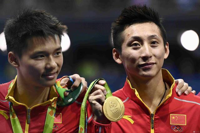 男双10米台林跃/陈艾森强势登顶 中国夺4连冠