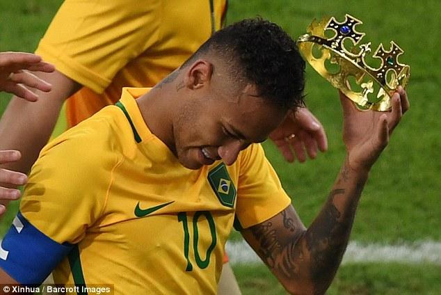 功成身退or压力太大?内马尔宣布辞去巴西队长
