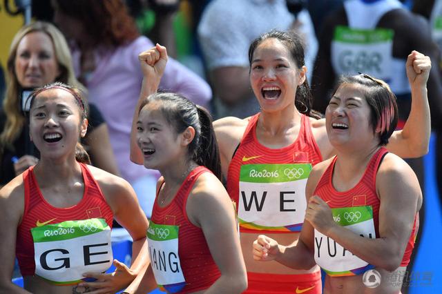 许绍连:美国女子接力重跑 政治绑架了体育!