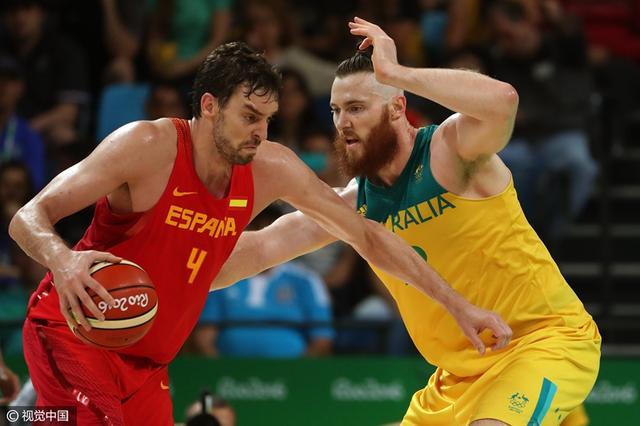 加索尔31+11虐翻两壮汉 他仍是FIBA第一内线