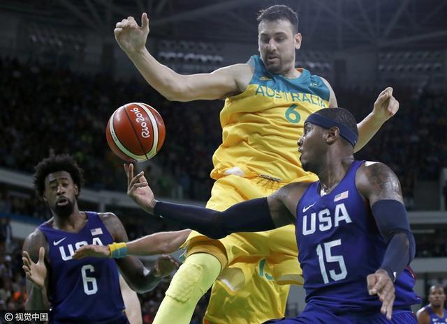 奥运男篮:美国6分险胜澳大利亚 安东尼31分