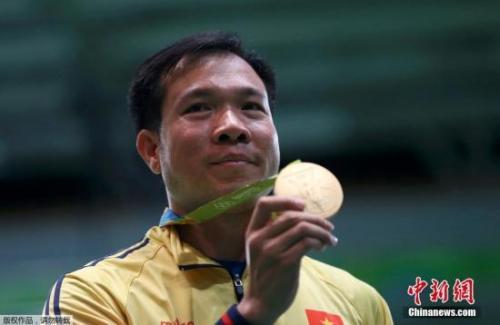 黄春荣夺越南奥运首金:韩国总教练鼎力相助