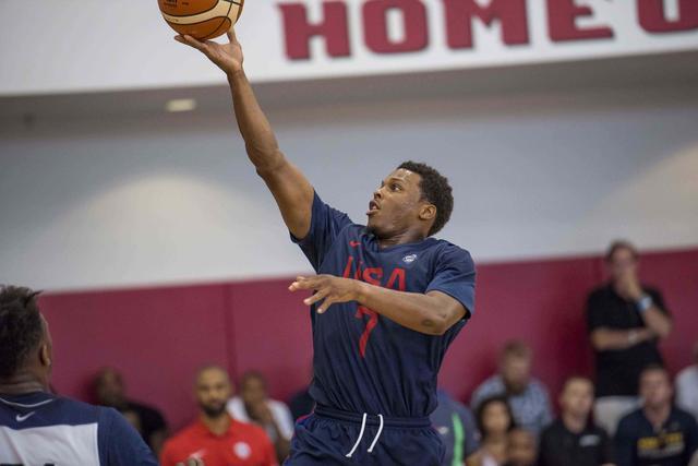 洛瑞:通过奥运让更多人爱篮球 无比渴望金牌