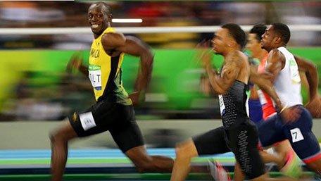 博尔特跑百米还不如大象和河马?