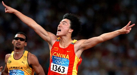 中国奥运健儿10个难忘瞬间骚