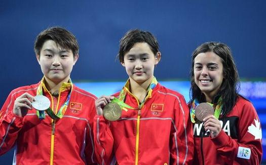 15岁奥运冠军任茜:想喝矿泉水连吃十顿火锅