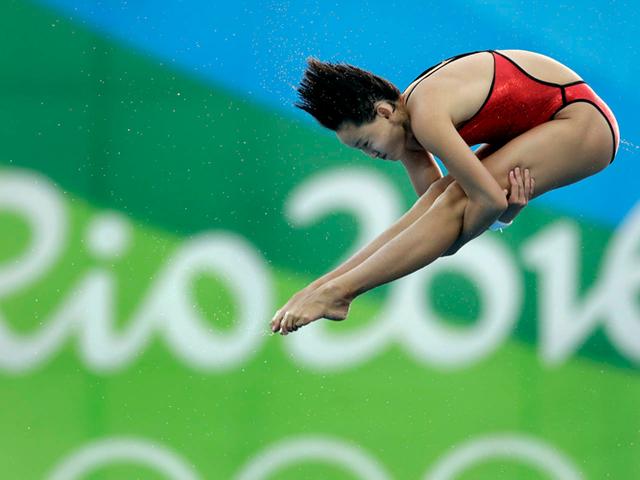 巴西媒体聚焦中国跳水队:5岁就开始正规训练