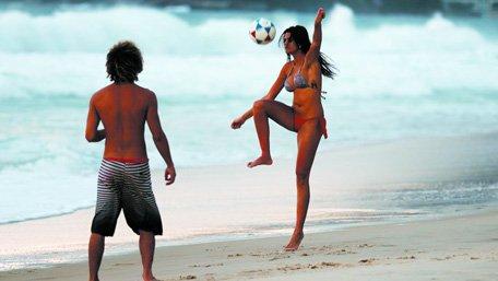 相比奥运 巴西人还是更爱足球