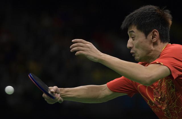 奥运-张继科2分男乒3-0韩国 决赛与日本争冠