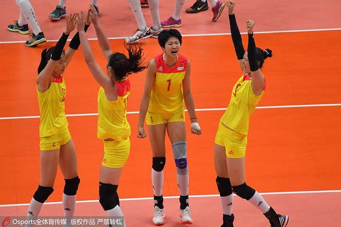 中国3-1强势夺冠