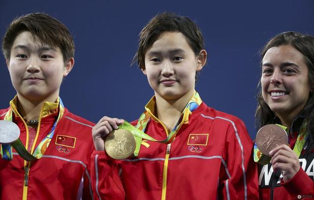 00后跳水冠军天生大心脏 下站天后看齐陈若琳