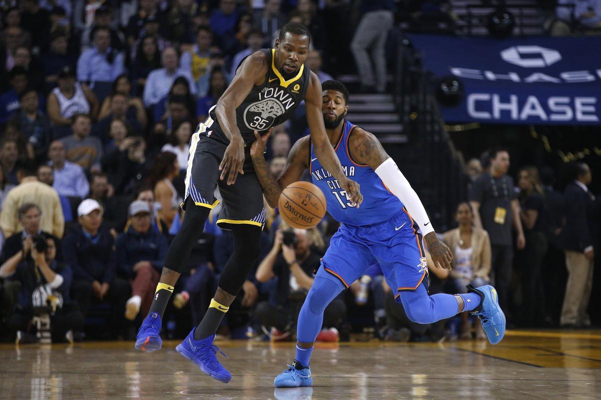 孤立無援!杜蘭特14投高效狂轟33分對飆威少,卻帶不動狂打鐵隊友們!(影)-Haters-黑特籃球NBA新聞影音圖片分享社區