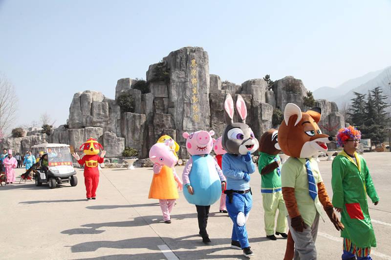 西安秦岭野生动物园开启第六届旺长安新春庙会