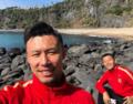 高清:恒大赛前游济州岛 外援晒景小黄晒自拍