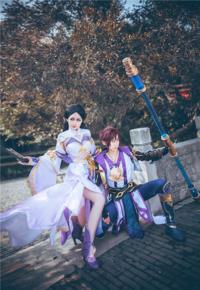 《王者荣耀》紫霞仙子x至尊宝