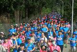北京8000人长城脚下跑马拉松