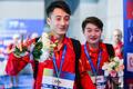 高清:跳水世界杯武汉站混双决赛 司雅杰/练俊杰无悬念夺冠