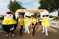 高清:特步企鹅跑西安站收官 马伯骞献唱数千跑友狂欢