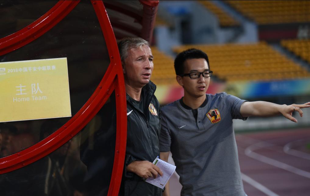 高清:贵州6-0中甲队新帅亮相 耶拉维奇获2球