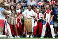高清:世界杯闭幕式火爆开场 小罗亮相史密斯献唱