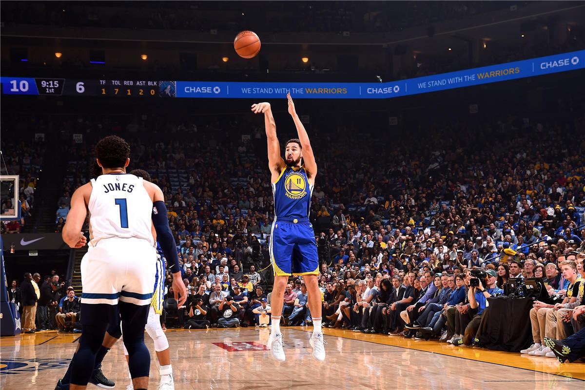 令人生畏!湯神83秒三連擊帶走比賽 他在場時勇士淨勝25分(影)-籃球圈