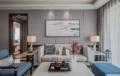 新中式沙发背景墙设计 美得像幅画!