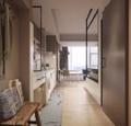 35平的简约风小户型公寓 单间装?#24125;?#22823;房子都好看